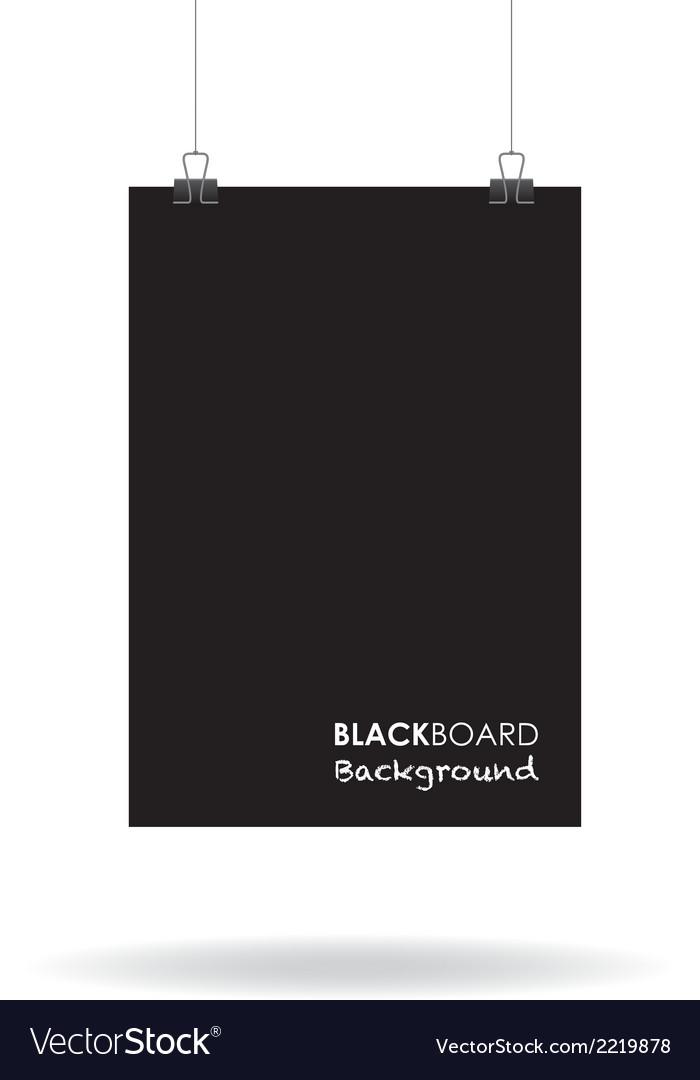 Blackboard sign vector | Price: 1 Credit (USD $1)