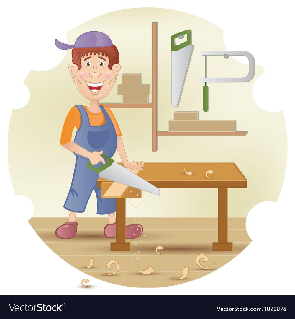 Carpenter vector | Price: 1 Credit (USD $1)