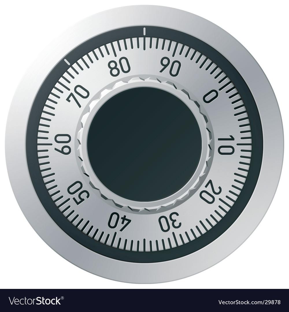Combination lock vector | Price: 1 Credit (USD $1)