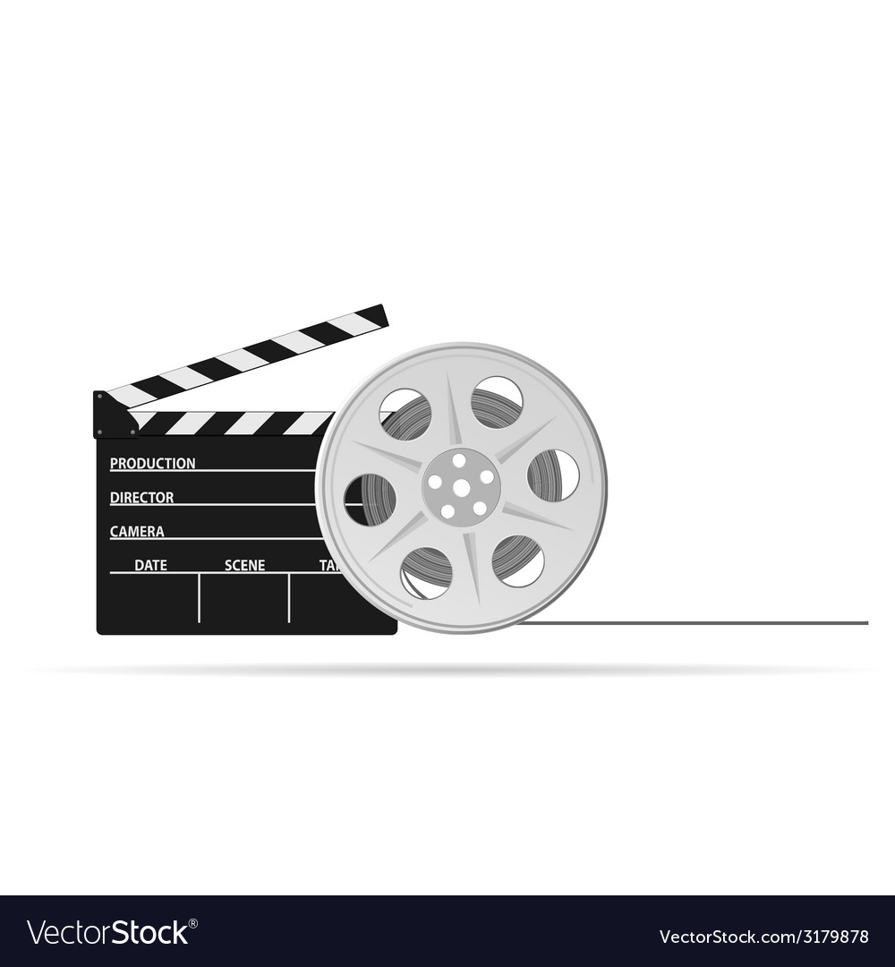 Film tape old part two vector | Price: 1 Credit (USD $1)