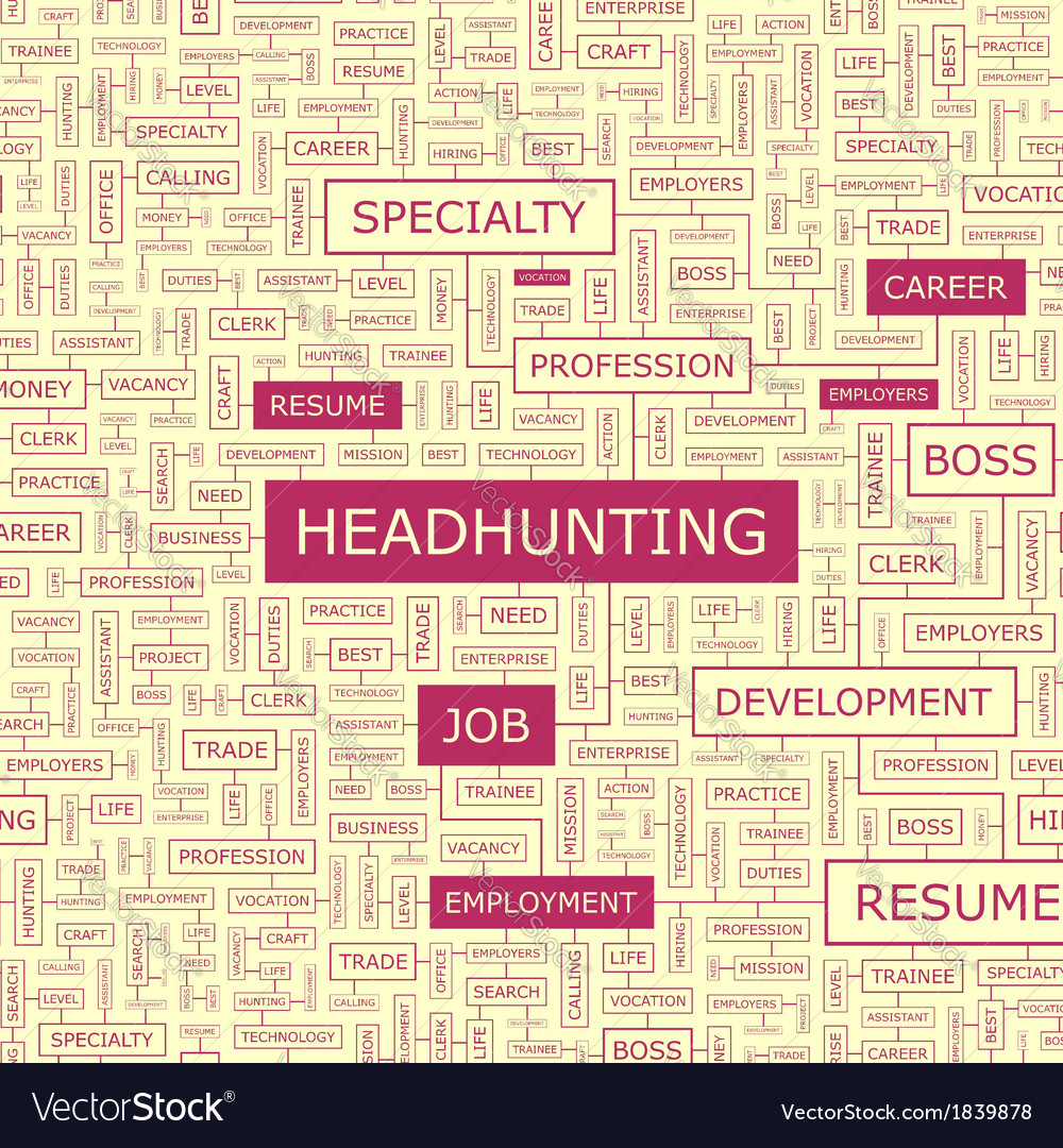 Headhunting vector | Price: 1 Credit (USD $1)