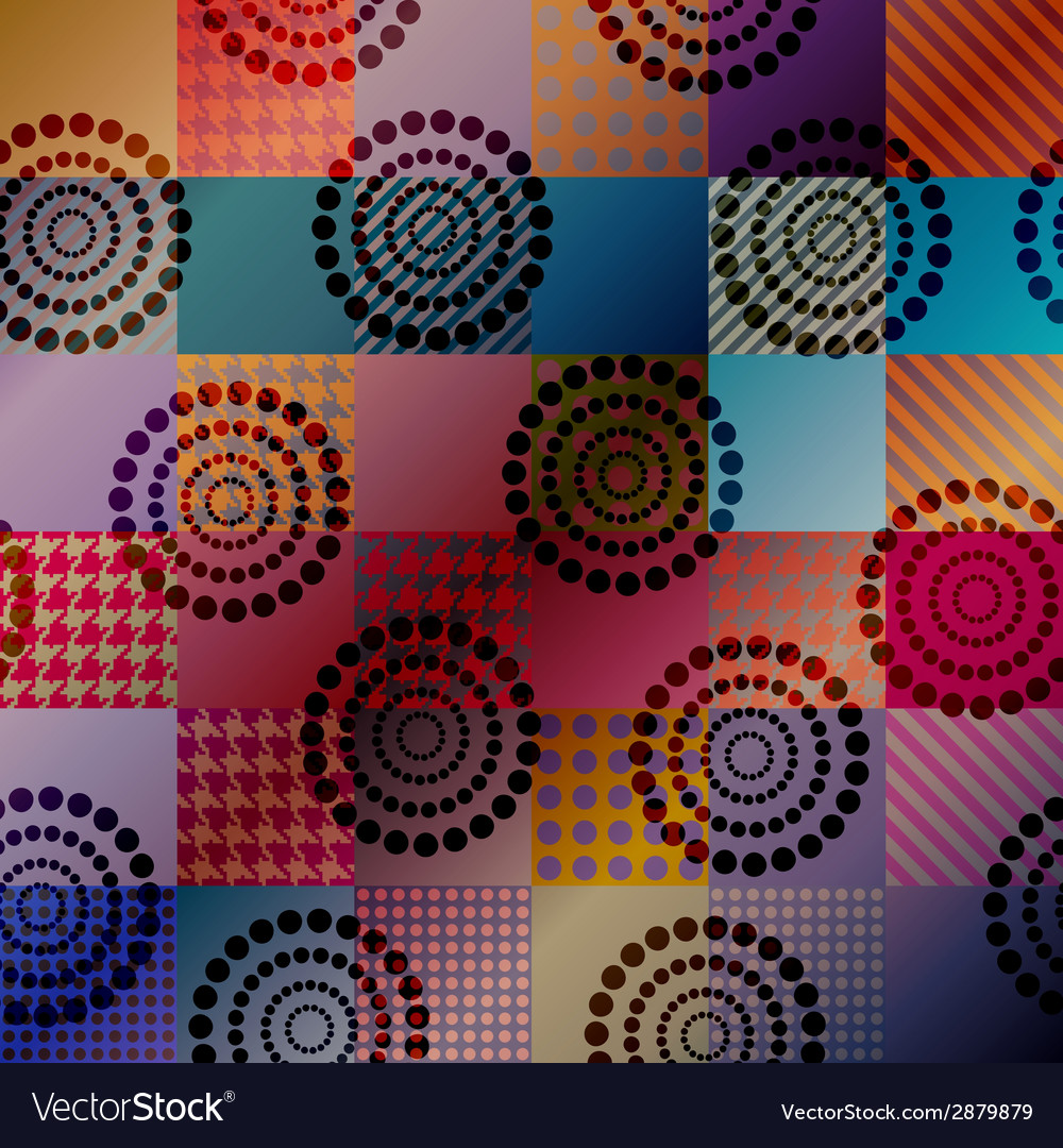 Geometric pattern with gradient transparency vector | Price: 1 Credit (USD $1)