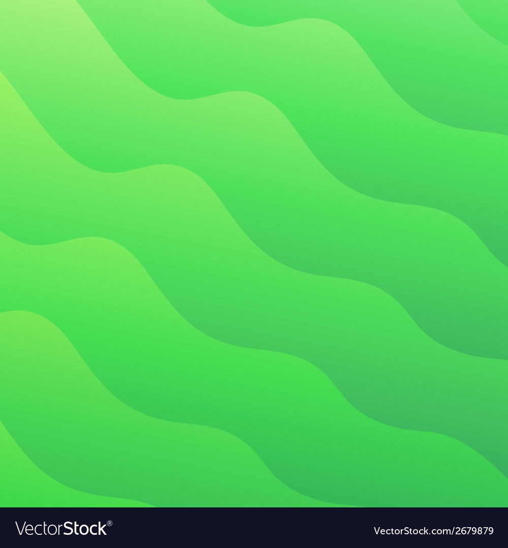 Light green waves abstract background converted vector | Price: 1 Credit (USD $1)