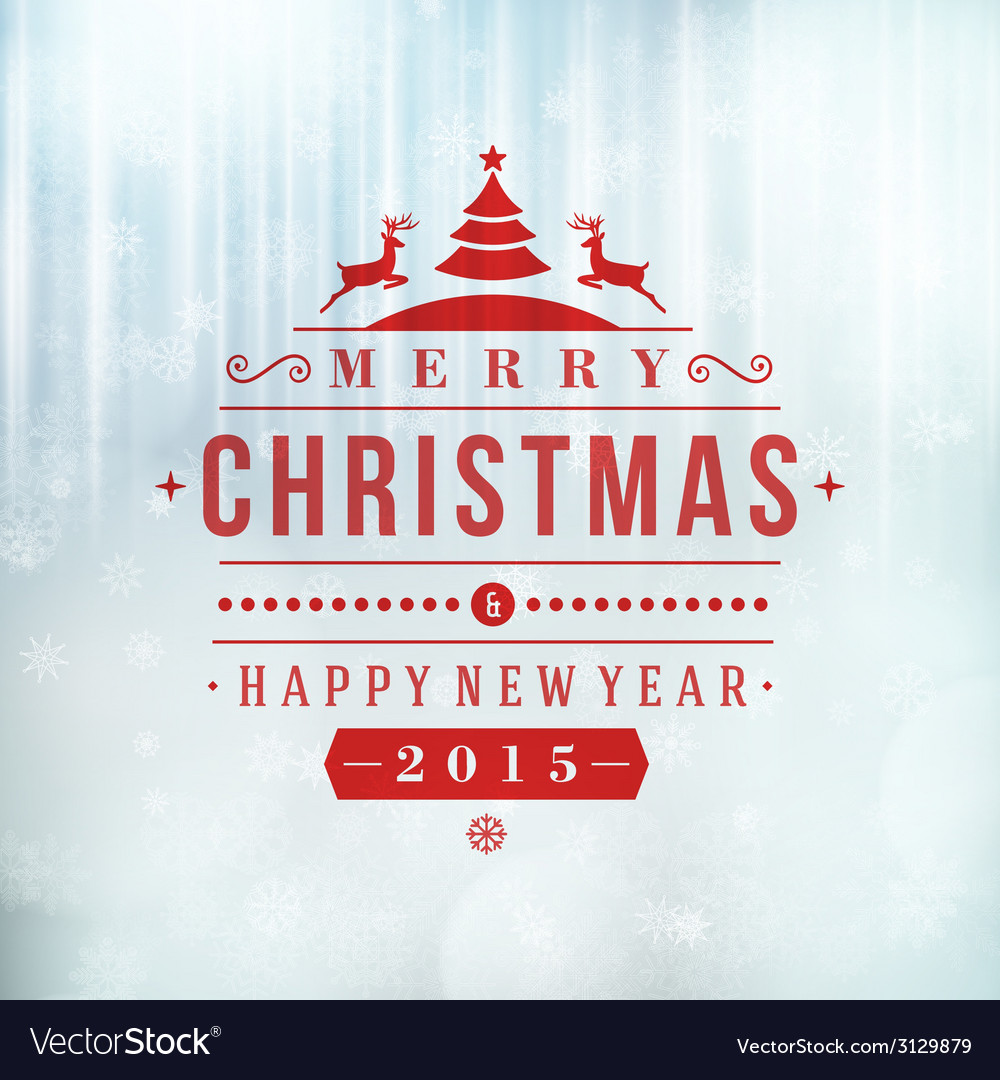Merry christmas message and light background with vector   Price: 1 Credit (USD $1)