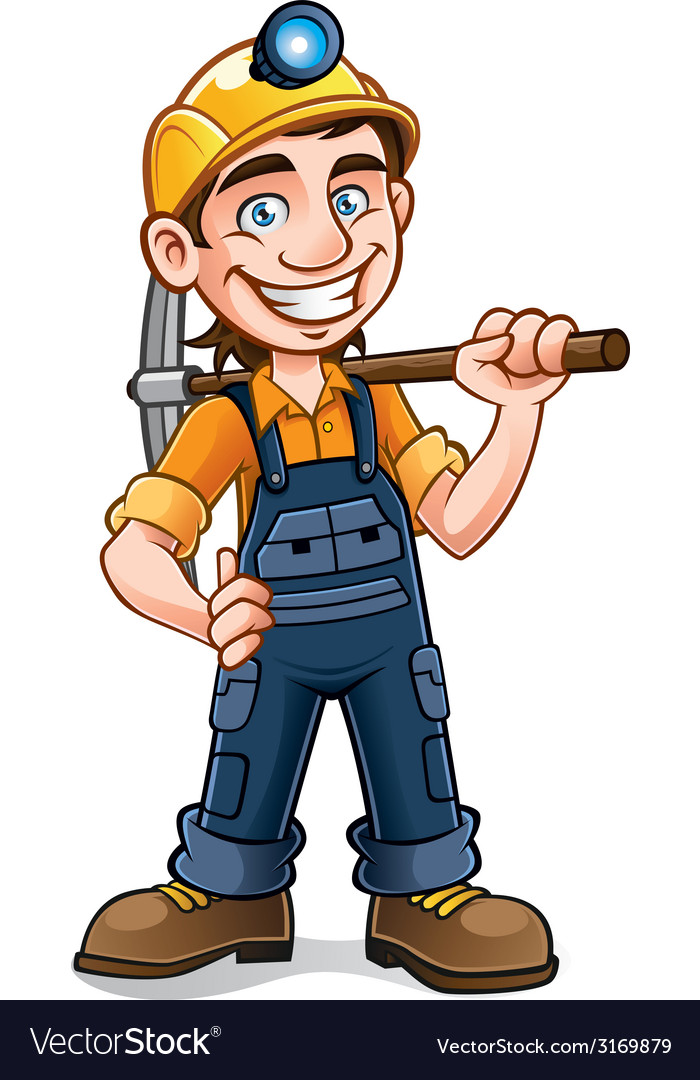 Miner vector | Price: 3 Credit (USD $3)