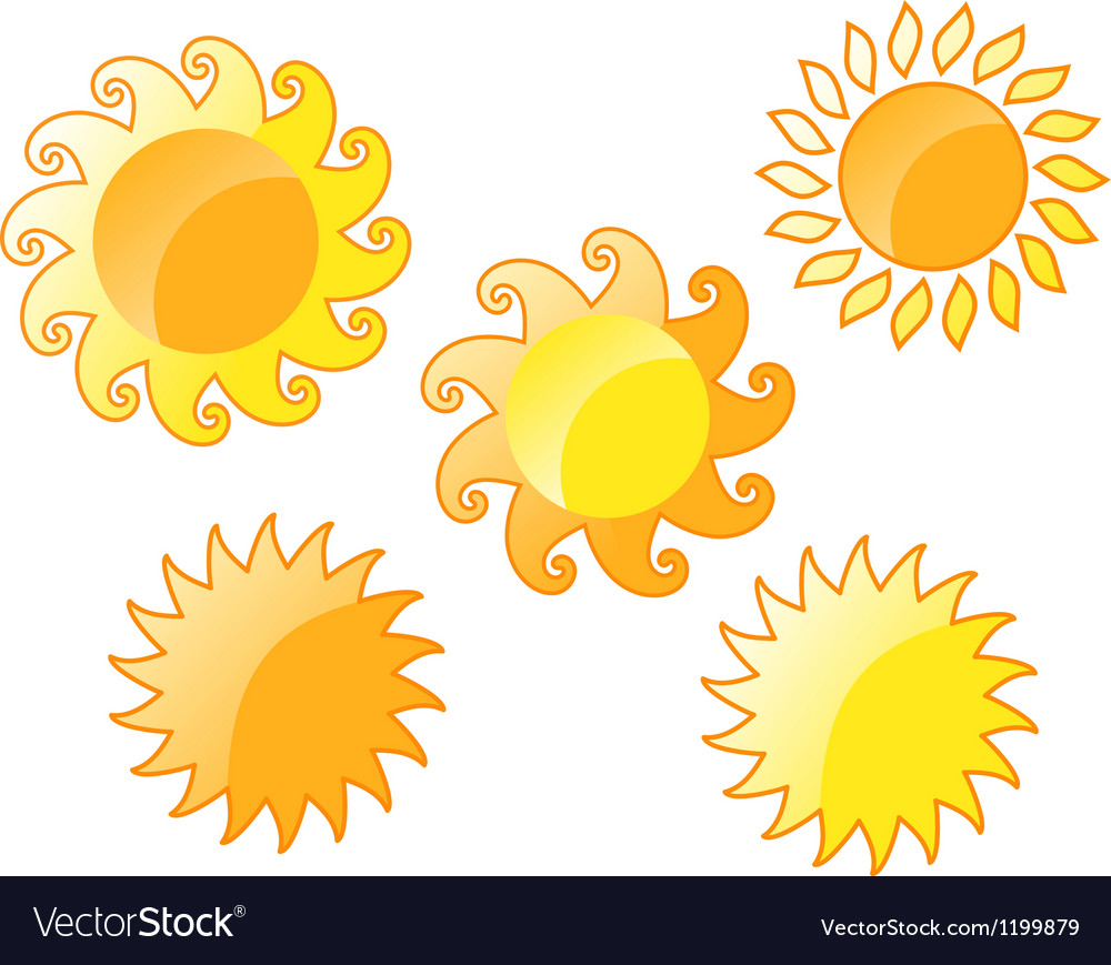 Sun vector | Price: 1 Credit (USD $1)