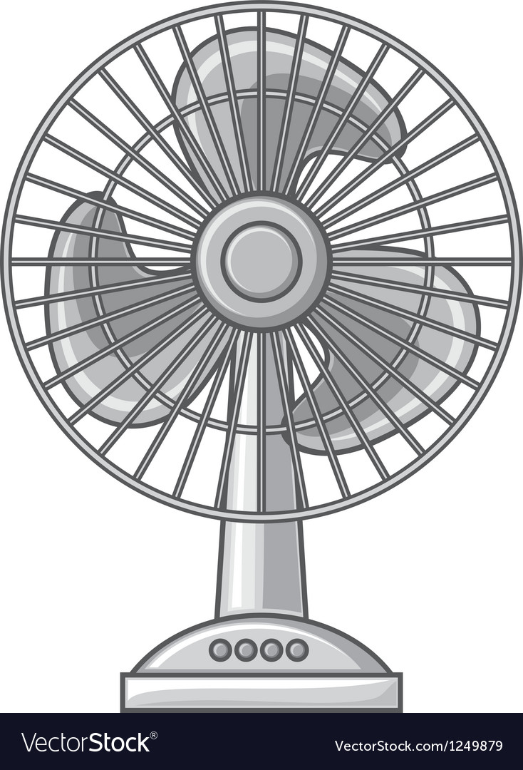 Table fan vector | Price: 1 Credit (USD $1)