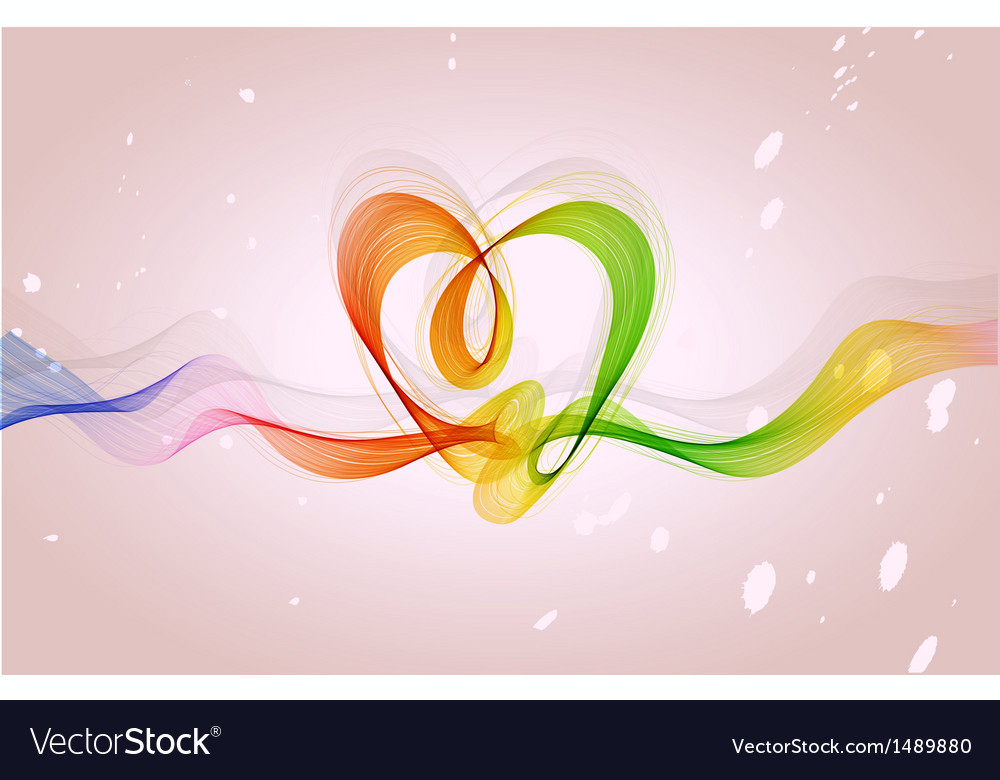 Abstract background heart vector | Price: 1 Credit (USD $1)