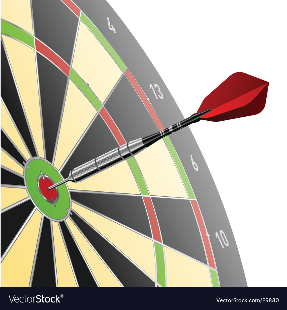 Dart vector | Price: 3 Credit (USD $3)