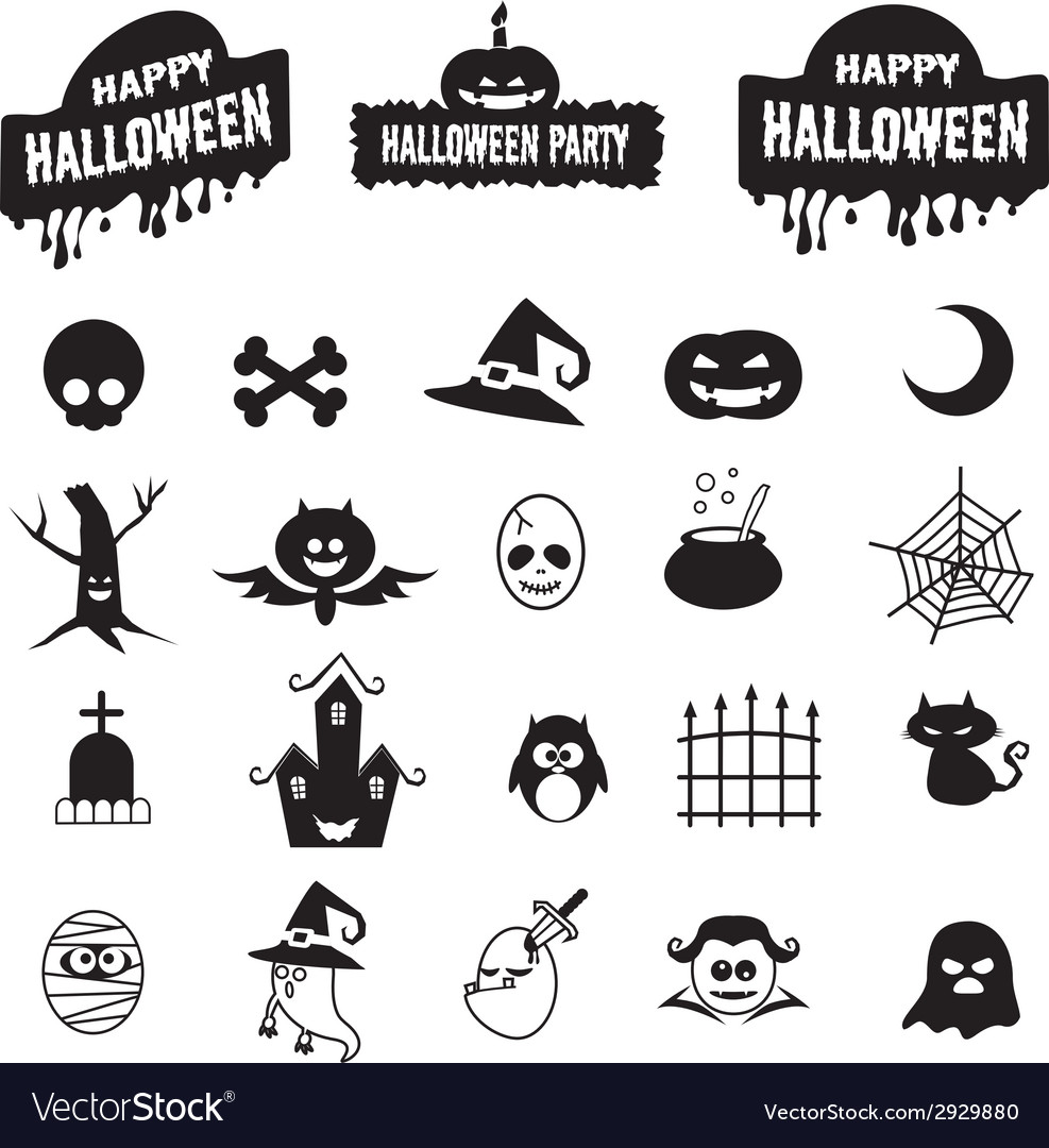 Halloween icon vector | Price: 1 Credit (USD $1)