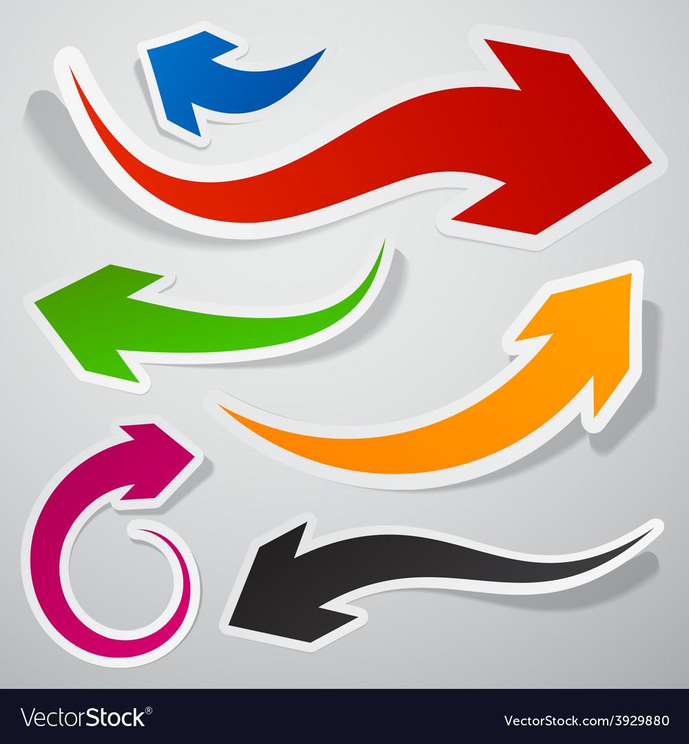 Paper arrows vector   Price: 1 Credit (USD $1)