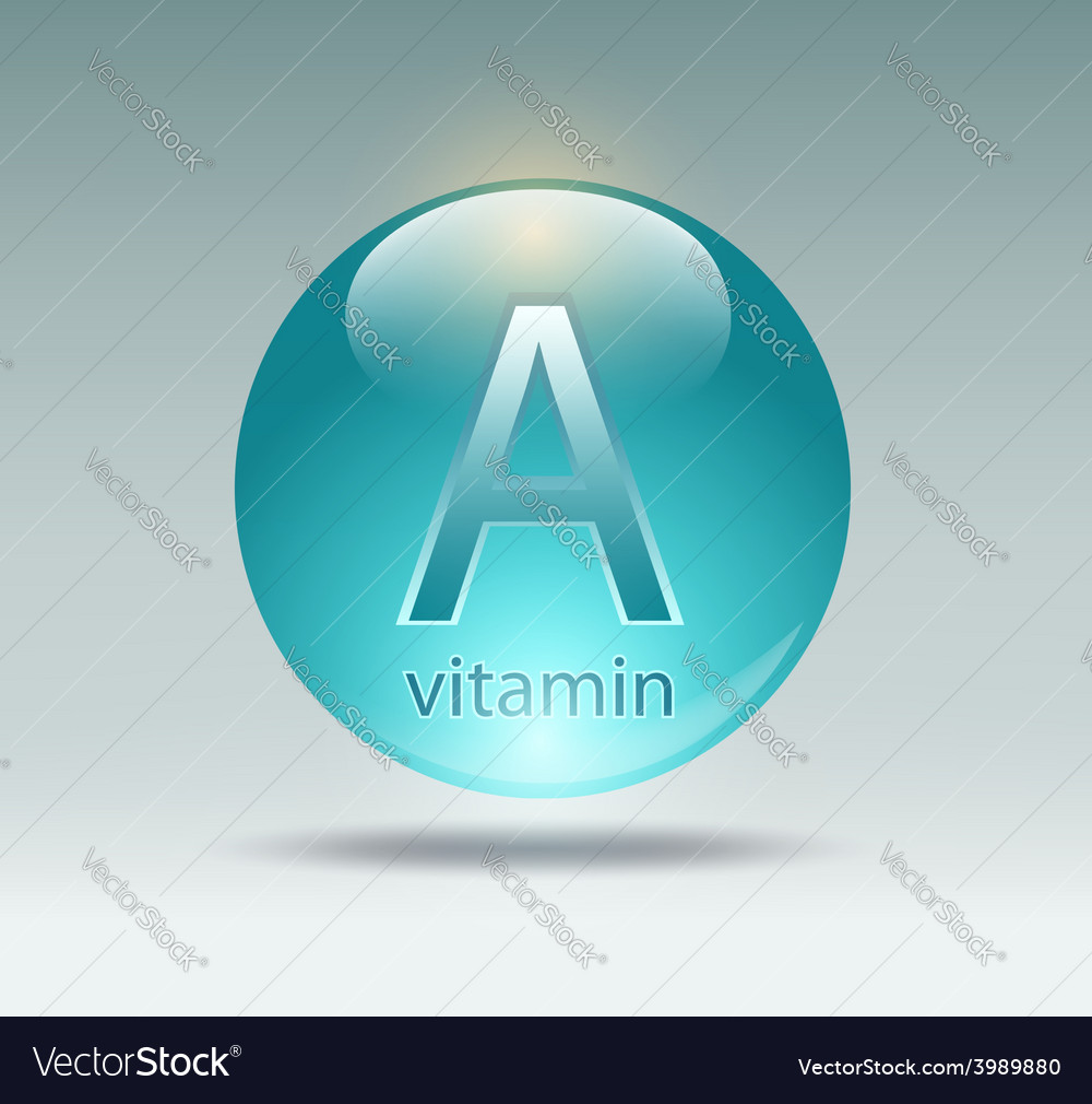 Vitamin a vector | Price: 1 Credit (USD $1)