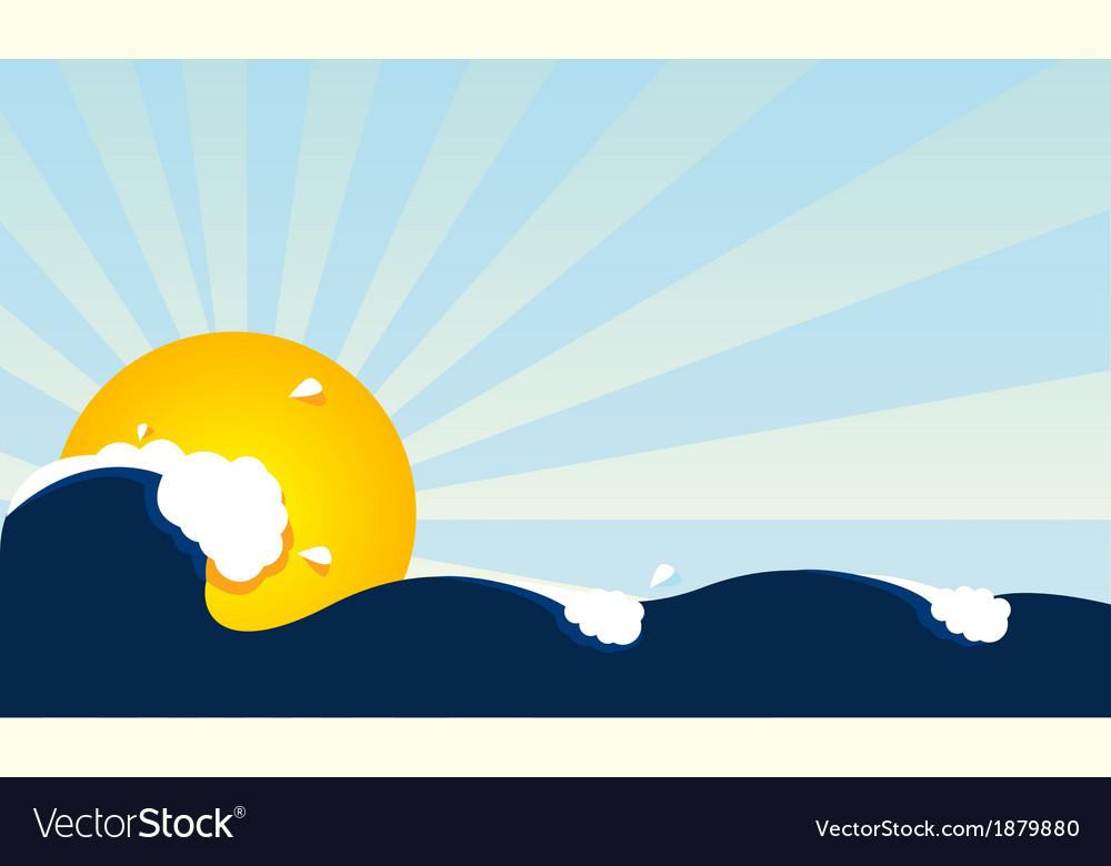 Waves vector | Price: 1 Credit (USD $1)