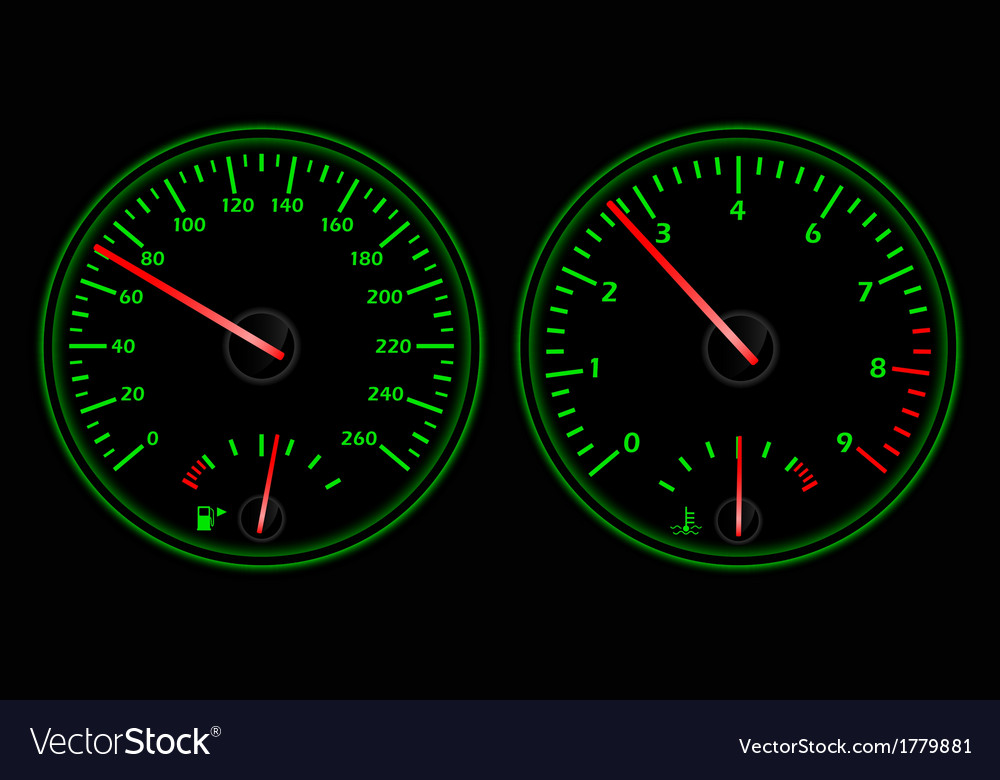 Auto dashboard vector | Price: 1 Credit (USD $1)