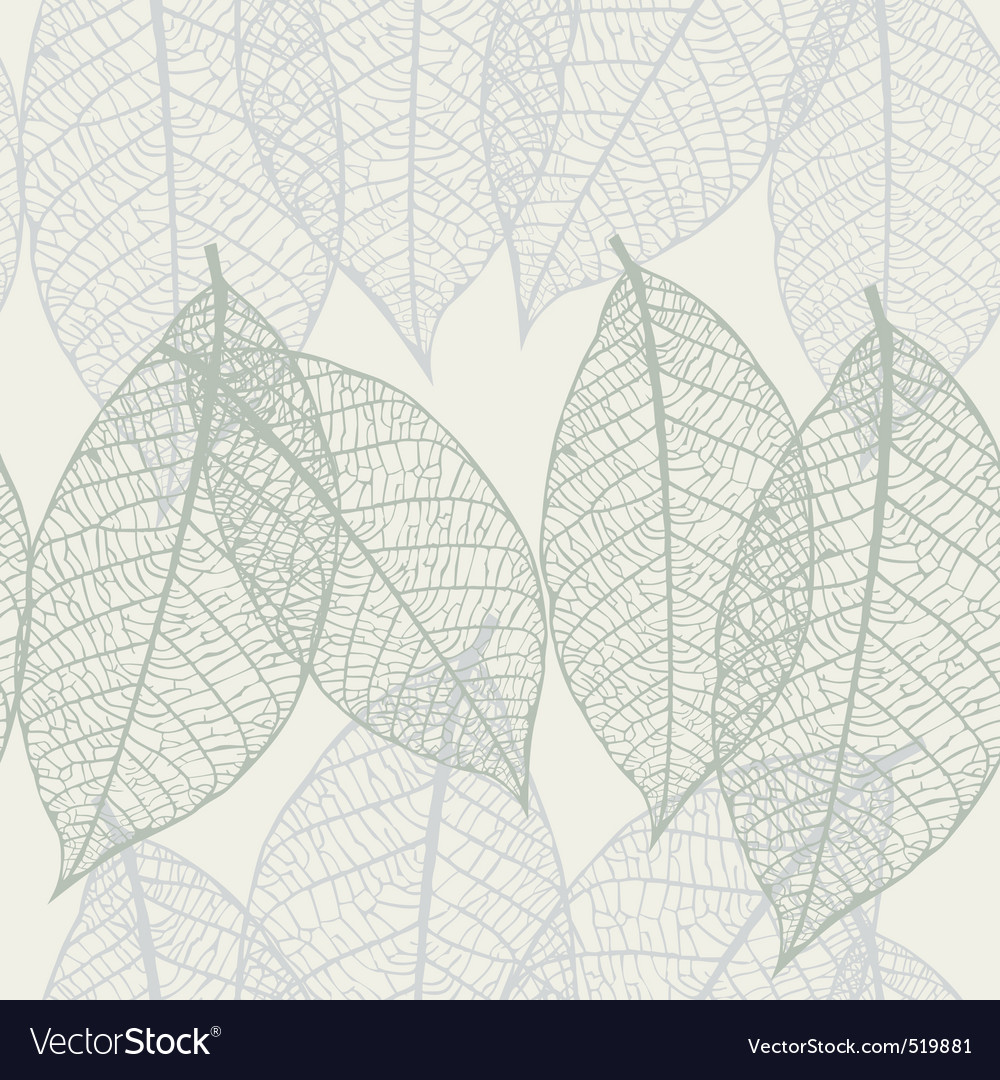 Texture with leaves vector | Price: 1 Credit (USD $1)