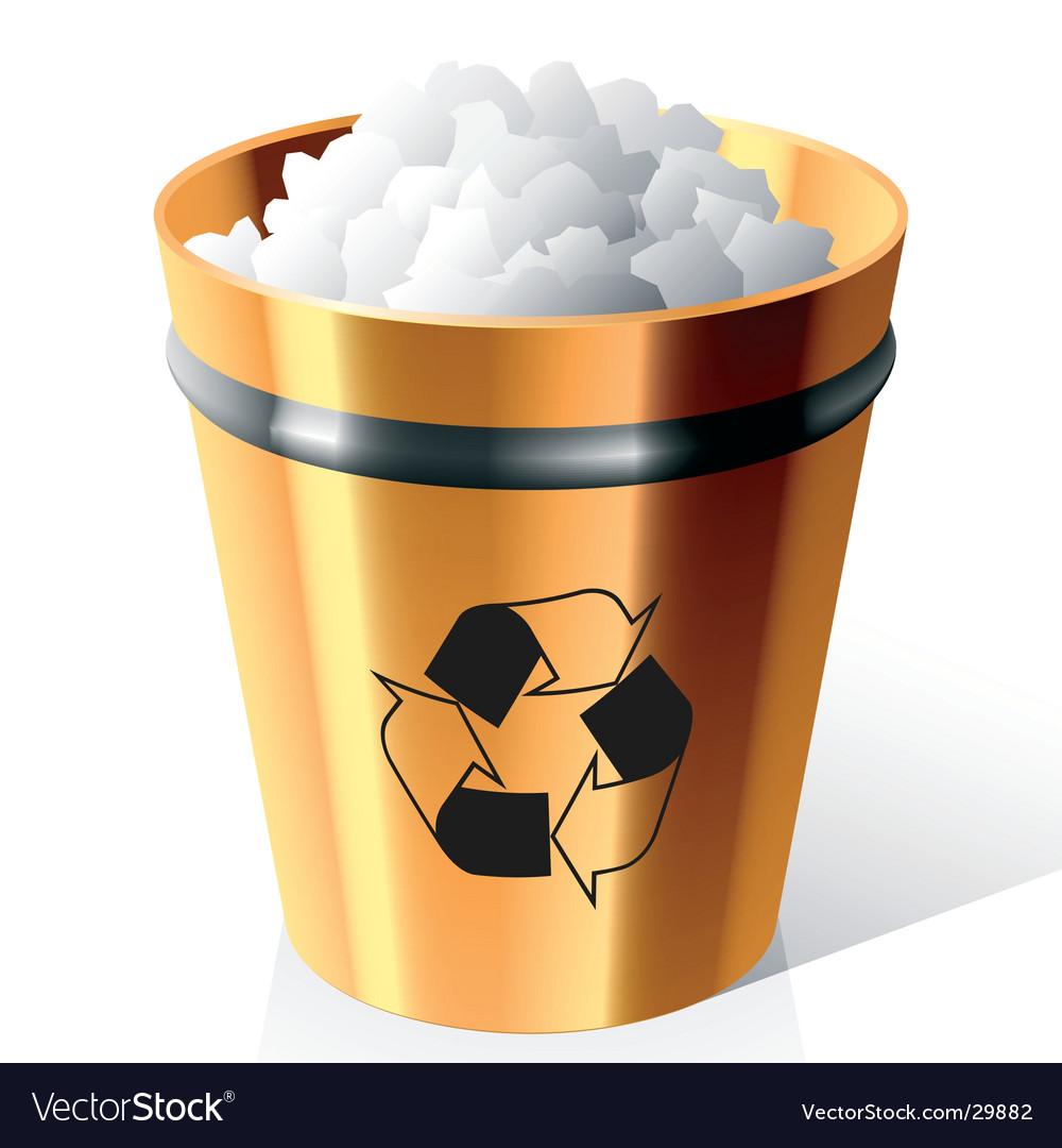 Dust bin vector | Price: 1 Credit (USD $1)