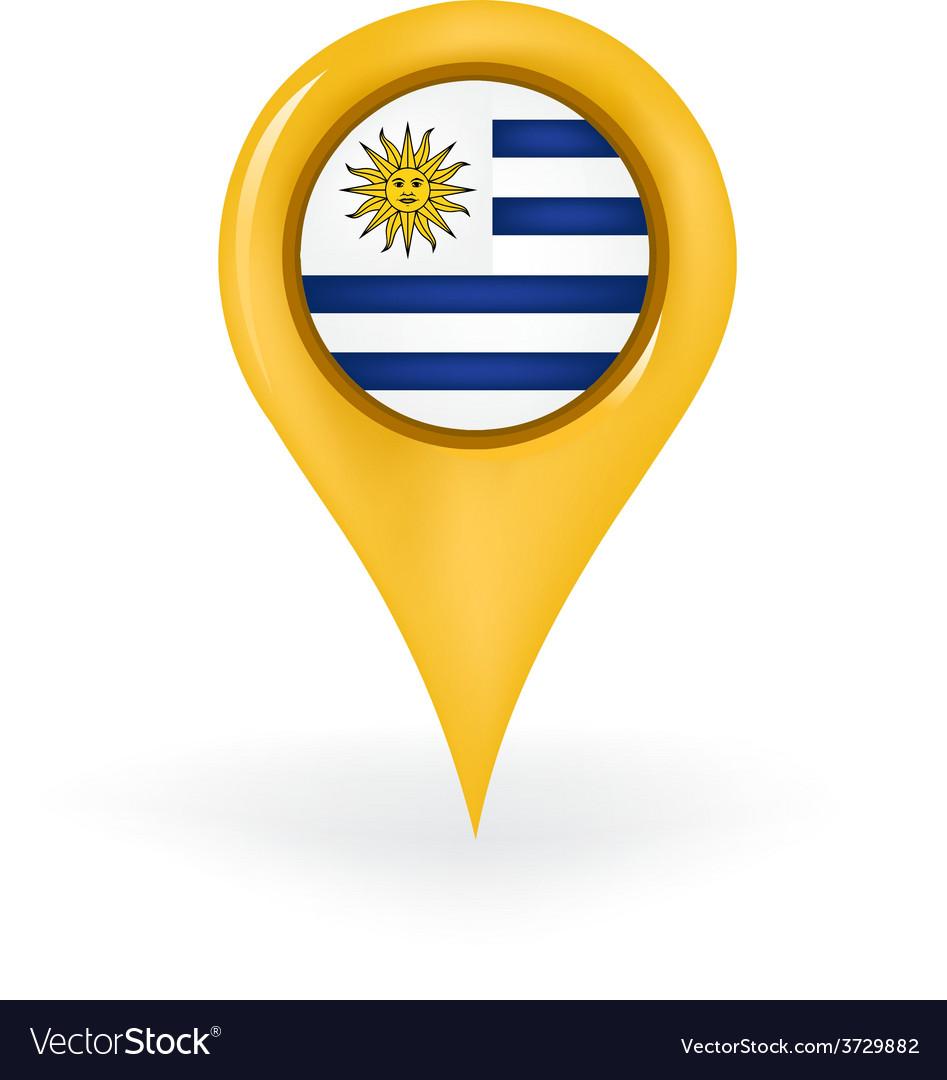 Location uruguay vector | Price: 1 Credit (USD $1)