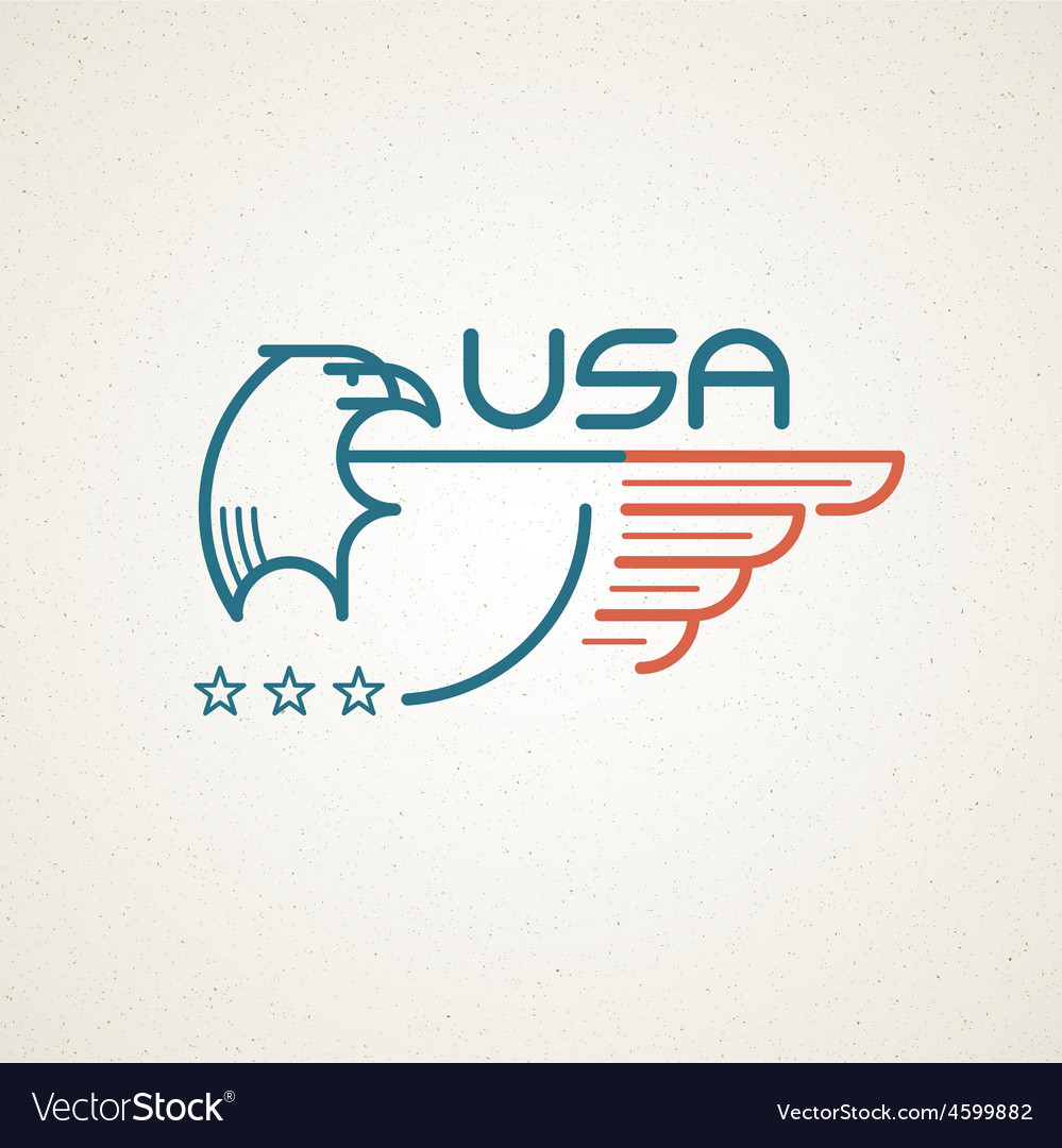 Made in the usa symbol with american flag and vector   Price: 1 Credit (USD $1)