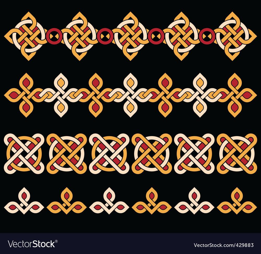Celtic ornaments vector | Price: 1 Credit (USD $1)