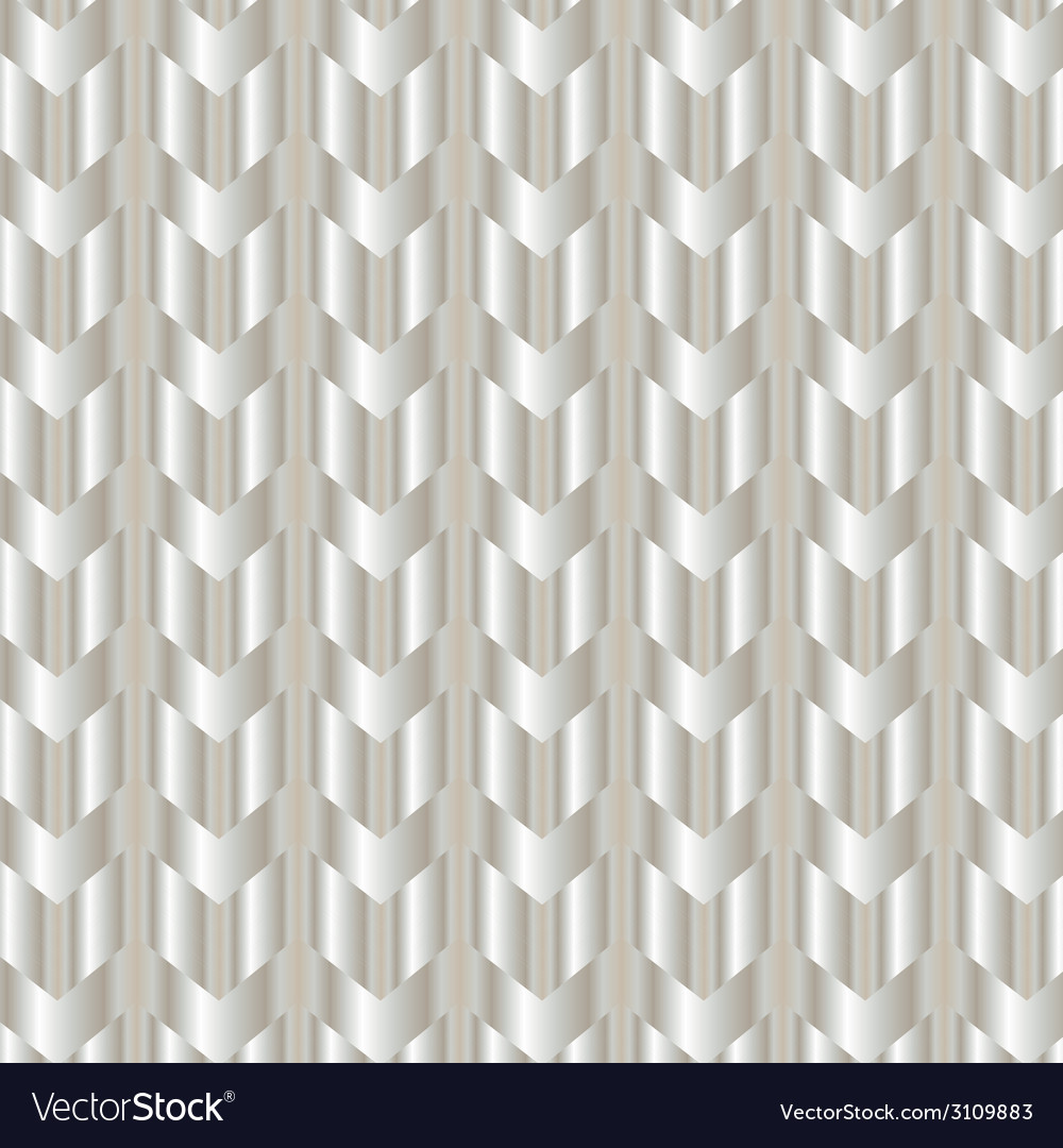 Chevron shiny silver background vector | Price: 1 Credit (USD $1)