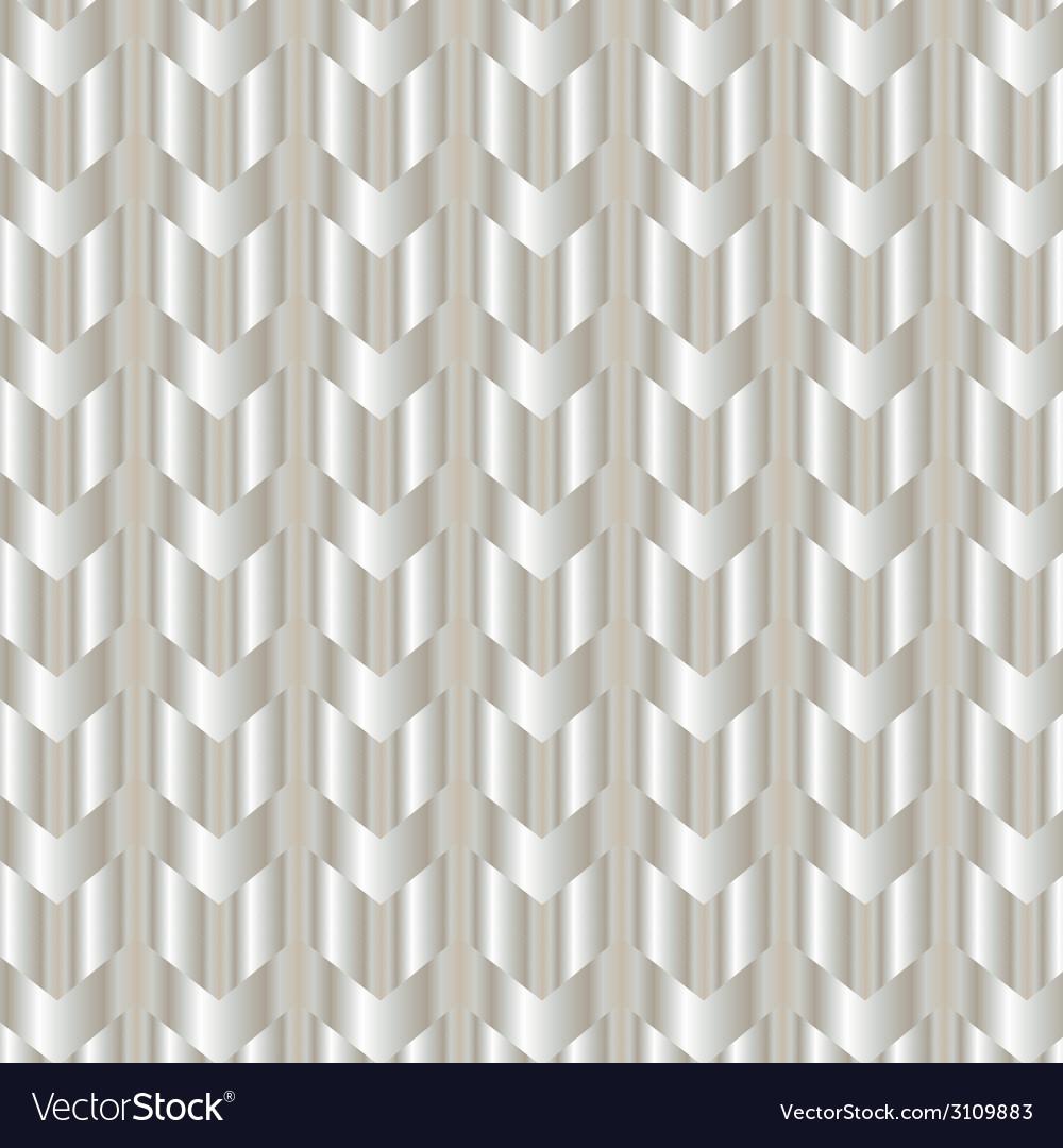 Chevron shiny silver background vector | Price: 1 Credit (USD $1)