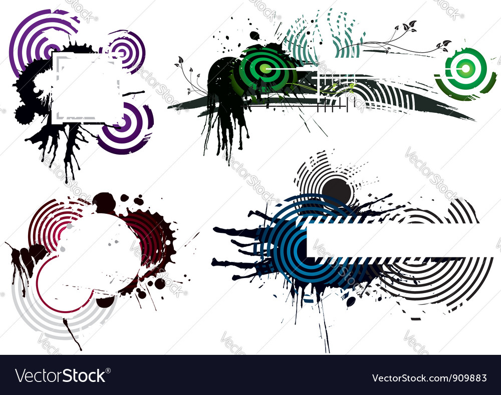 Grunge designs vector | Price: 1 Credit (USD $1)