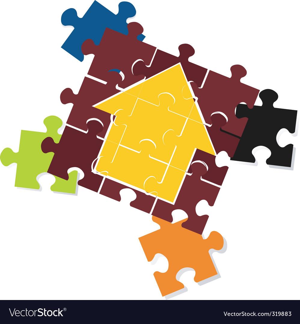 Jigsaw vector | Price: 1 Credit (USD $1)