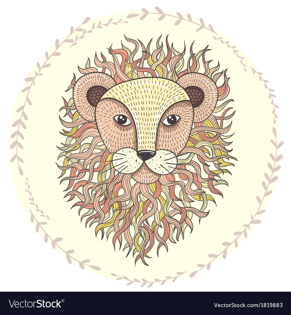 Lion 316 vector | Price: 1 Credit (USD $1)