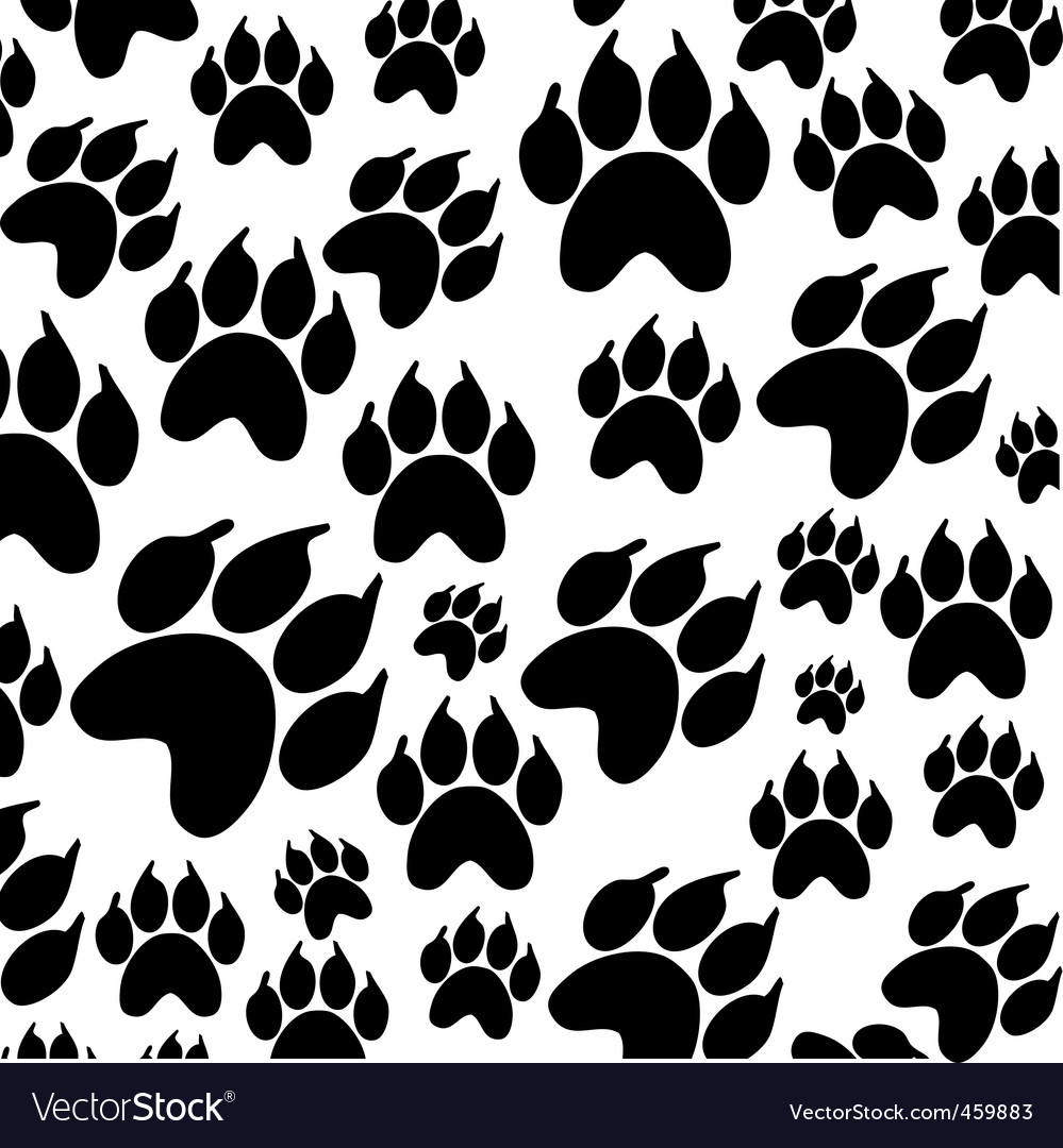 Paws icon vector | Price: 1 Credit (USD $1)