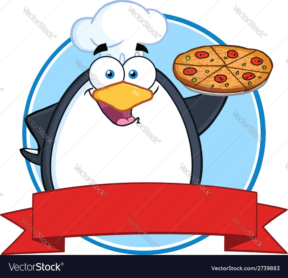 Penguin cartoon vector | Price: 1 Credit (USD $1)
