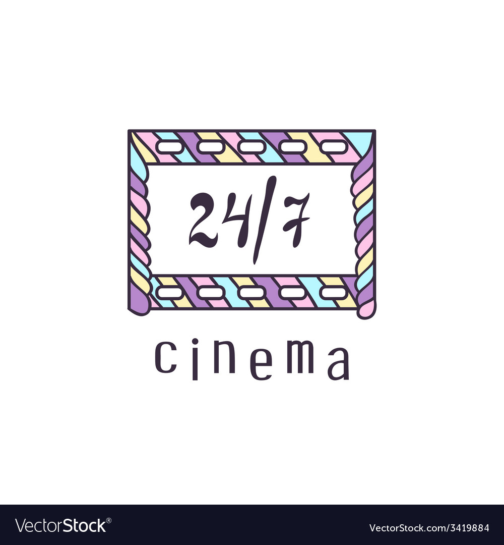 Cinema logo vector   Price: 1 Credit (USD $1)