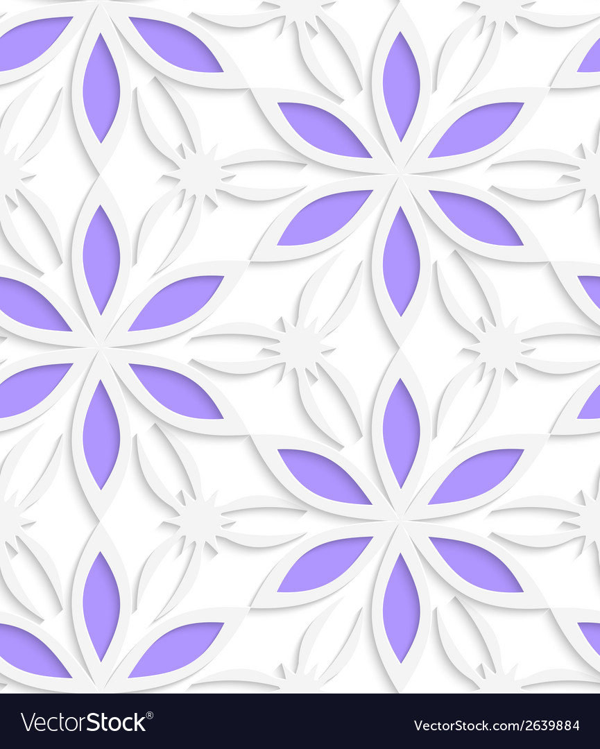 Floristic white seamless vector | Price: 1 Credit (USD $1)