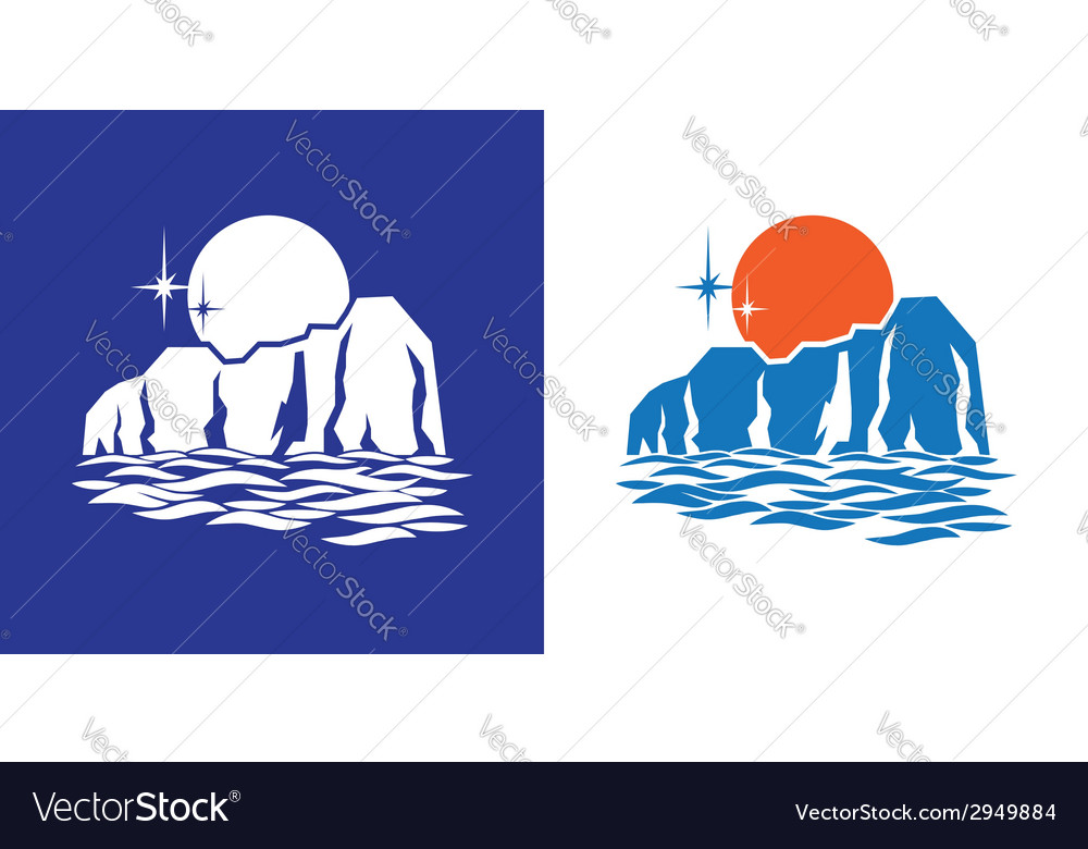 Northern full moon vector | Price: 1 Credit (USD $1)