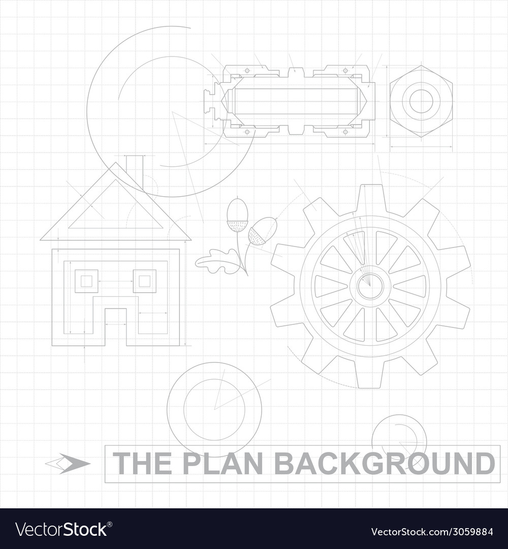 Plan background vector | Price: 1 Credit (USD $1)