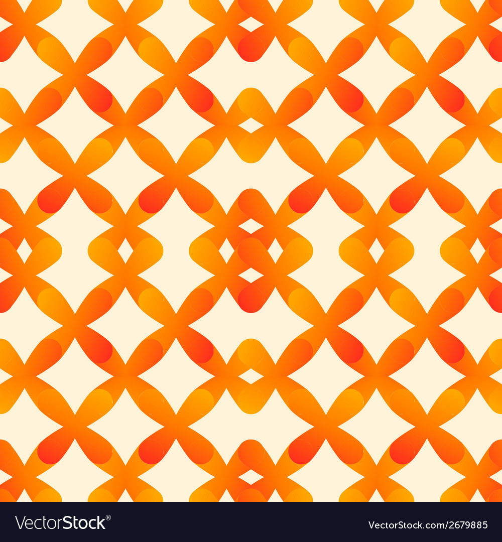 Abstract seamless pattern in orange colors made of vector | Price: 1 Credit (USD $1)