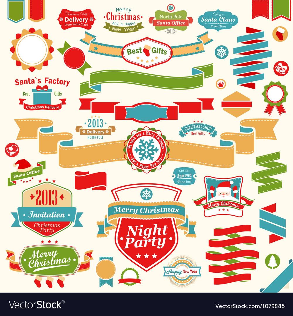 Christmas set vector | Price: 3 Credit (USD $3)