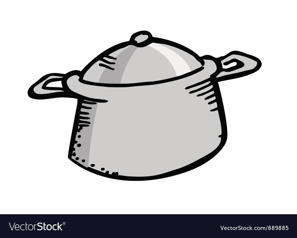 Cooking pot vector | Price: 1 Credit (USD $1)