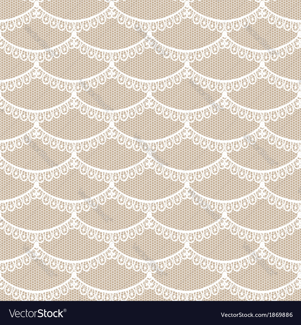 Seamless white scales lace vector   Price: 1 Credit (USD $1)