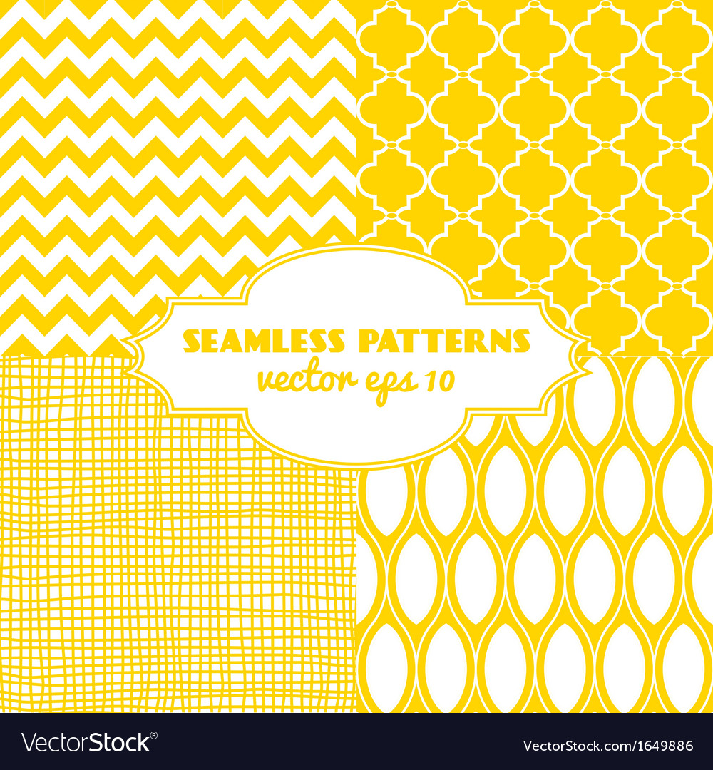Set of sweet seamless patterns vector | Price: 1 Credit (USD $1)