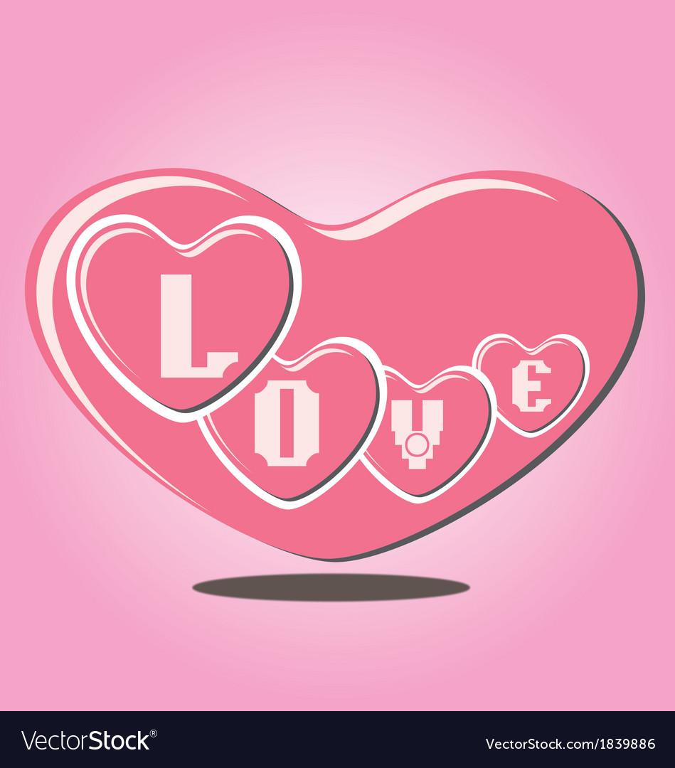 Valentine heart vector   Price: 1 Credit (USD $1)