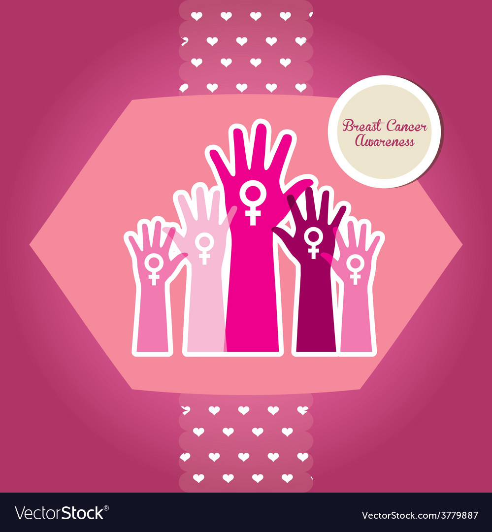 Breast cancer vector | Price: 1 Credit (USD $1)
