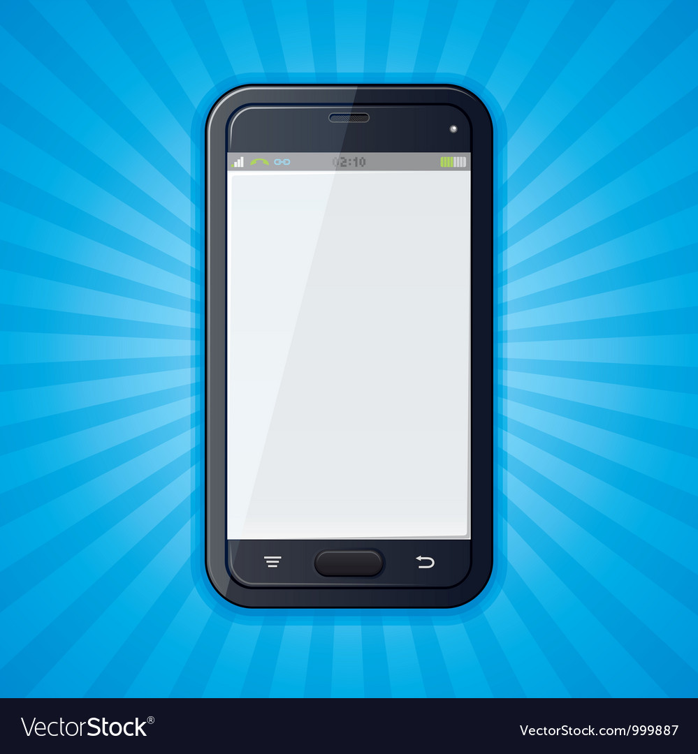 Cellphone retro background vector | Price: 1 Credit (USD $1)