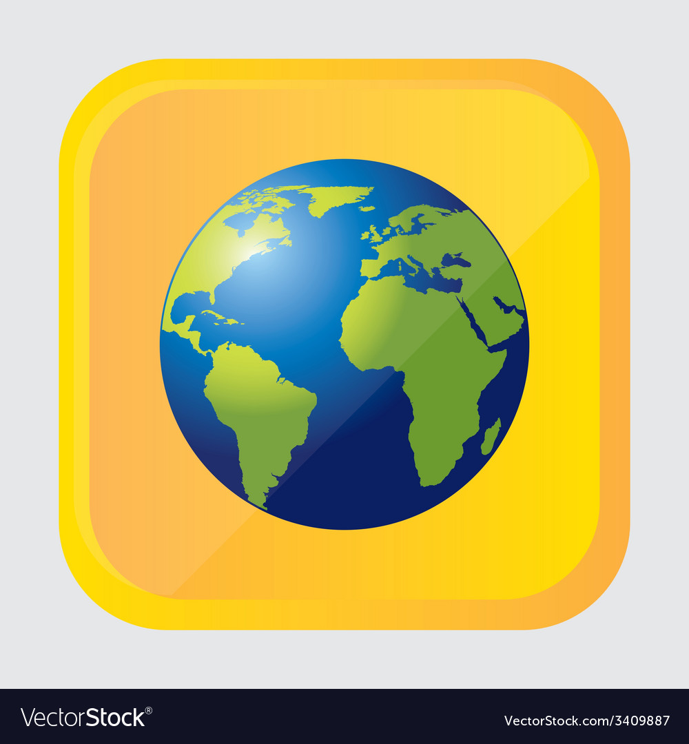 Earth design vector | Price: 1 Credit (USD $1)