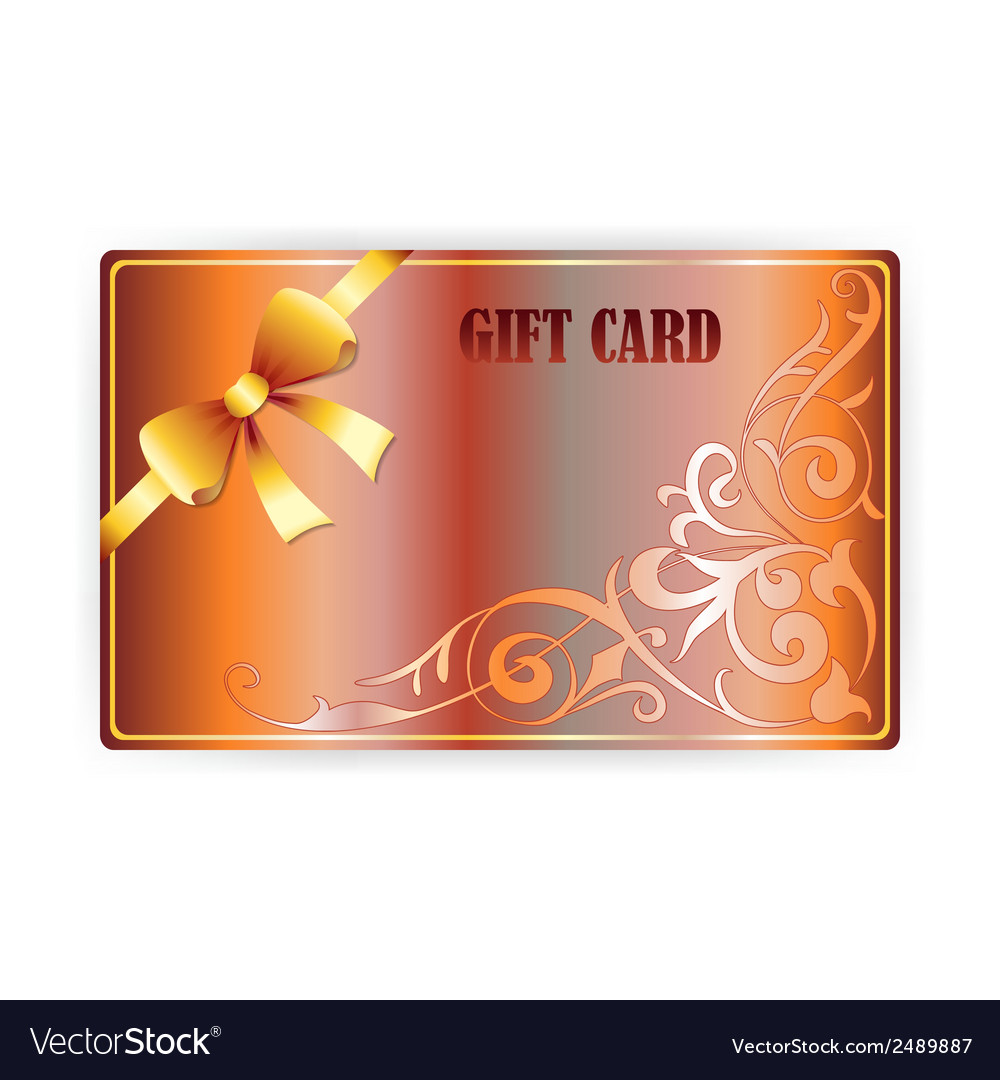 Gift coupon gift card vector | Price: 1 Credit (USD $1)