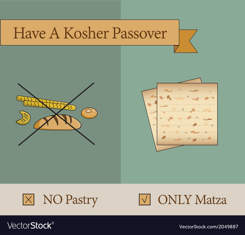 Have a kosher passover holiday vector | Price: 1 Credit (USD $1)