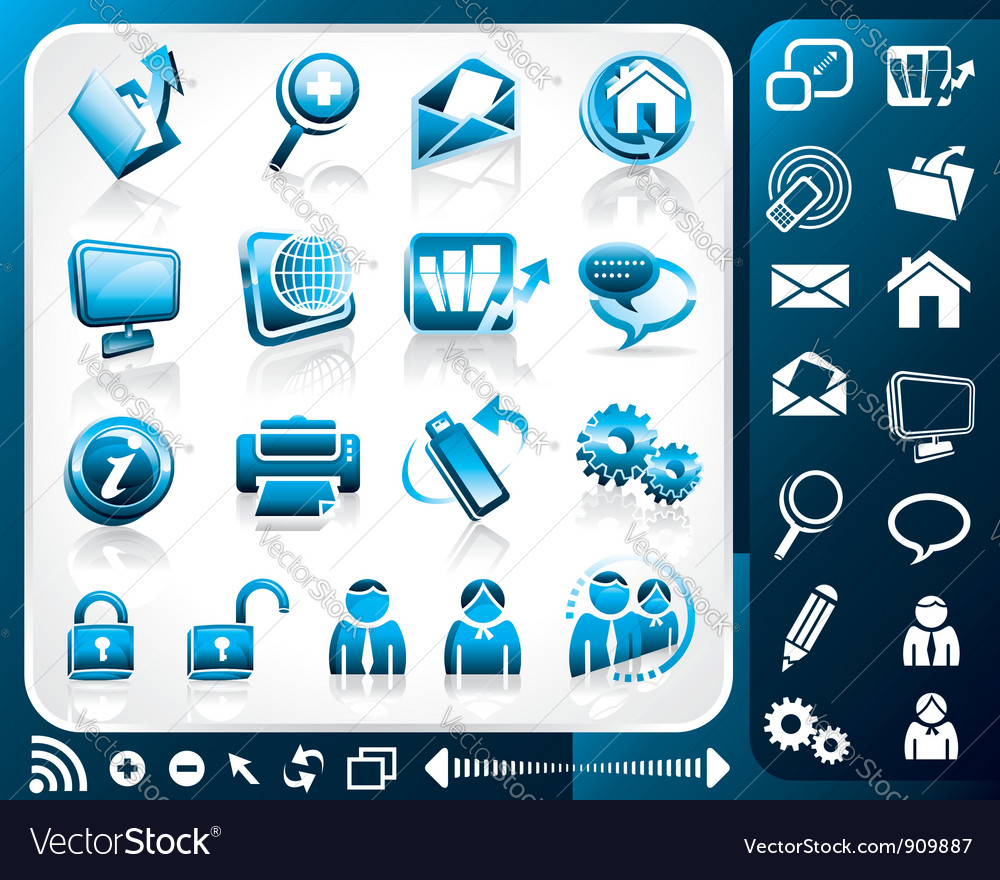 Icon internet vector | Price: 3 Credit (USD $3)
