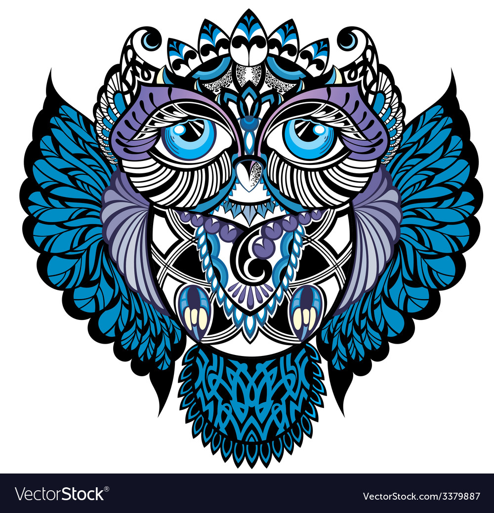 Owl vector | Price: 3 Credit (USD $3)