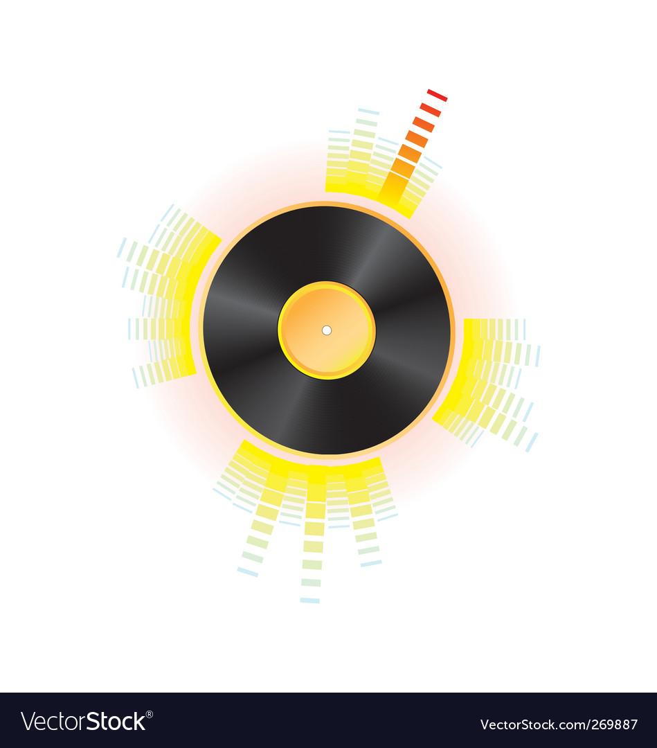 Vinyl vector | Price: 1 Credit (USD $1)