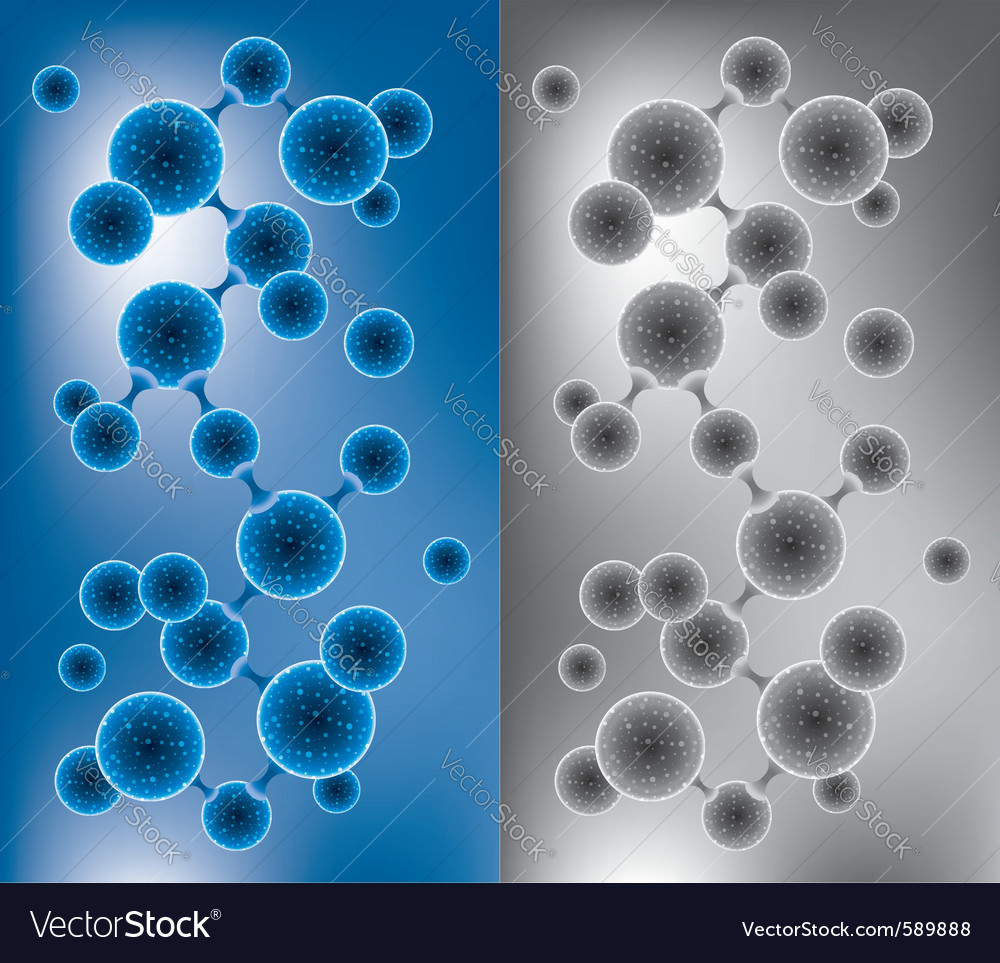 Abstract molecule vector | Price: 1 Credit (USD $1)