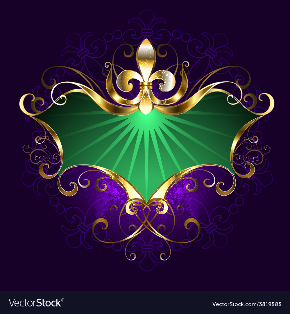 Banner mardi gras vector | Price: 3 Credit (USD $3)